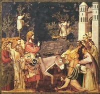 Giotto Scrovegni 26 Entry into Jerusalem2